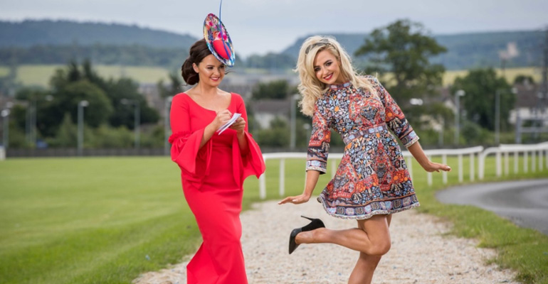 The Jennifer Wrynne Boutique Style Challenge: Bulmers Live at Leopardstown